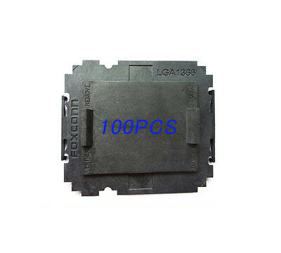 100 pcs Foxconn Intel LGA1366 CPU Socket Protector Cover for LGA1366 Motherboard