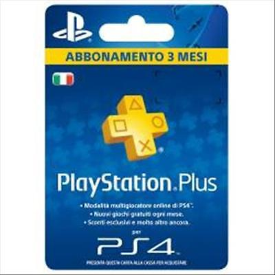 Sony Playstation Plus Card Hang 90 Days