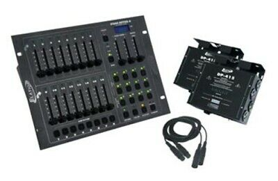 American DJ STAGE PAK 1 Stage Lighting Control Package For Use W/ Dmx512 New