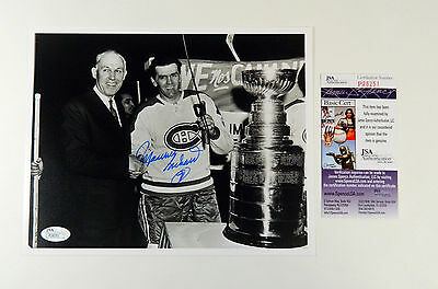 Maurice Richard Signed 8x10 Color Photo Canadiens JSA Auto