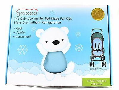 Stroller Seat Cushion Cooling Gel Liner Geleeo Baby Toddler USED Color Choice