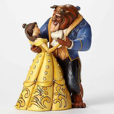 Belle and Beast Dancing Figurine Disney Beauty and the Beast Jim Shore Figurine
