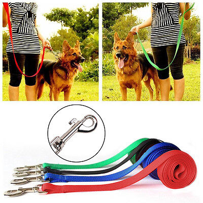6/15/20/30/50 Feet Pet Leashes, Training/Walking/Hiking Cotton Dog Pup Lead Rope