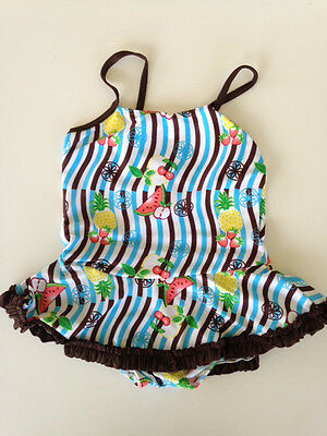 New Baby Girls 1 Piece Swimwear Swimmers Bathers. Only size 4 left!