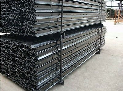 Black Bitumen Coated Star Picket Post 2.1M