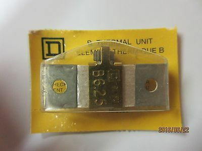 Overload Relay Thermal Units B6.25 (Square D's)