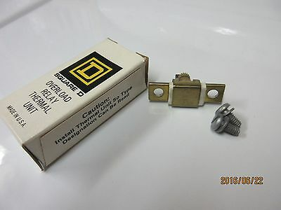 Overload Relay Thermal Units A6.99 (Square D's)