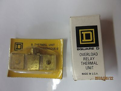 Overload Relay Thermal Units B7.70 (Square D's)