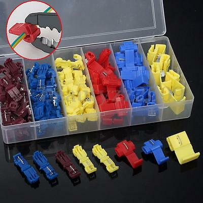 96pcs Insulated 0.5-6.0mm2 Quick Splice Wire Connector Crimp Terminals 22-10 Kit