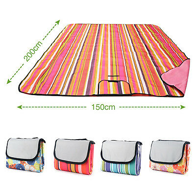 Picnic Blanket Rug for Travel Outdoor Beach Camping Extra Large Soft Waterproof