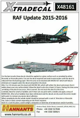 Xtradecal X48161 1/48 RAF Update 2015-2016 Model Decals