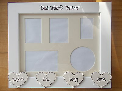 Personalised Best Friends Forever Gift Photo Frame 10x8 Quick