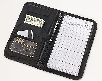 Deluxe package Waitstaff Organizer Server book/Wallet & Order pad -Made in USA-