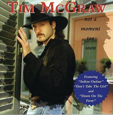 Tim McGraw - Not a Moment Too Soon [New CD]