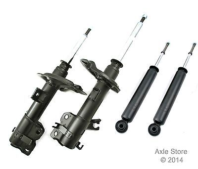 4 New DTA Struts Shocks Lifetime Warranty Fit Nissan Cube Springs NOT included