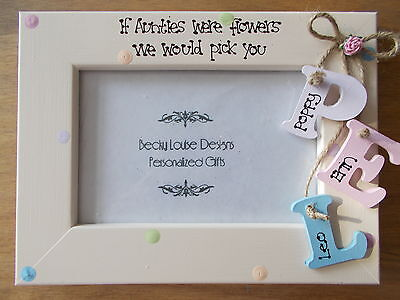 Personalised Auntie Photo Frame Gift 6x4