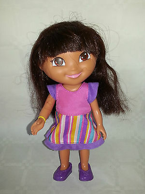 """Dora The Explorer - Hard Bodied Doll - Really Sweet - By Mattel 2009 - Approx 5"""""""