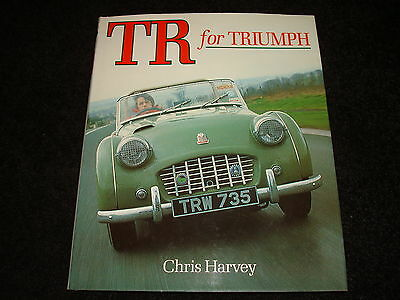 TR FOR TRIUMPH BY CHRIS HARVEY - DATED 1990 FROM TR1 to TR8
