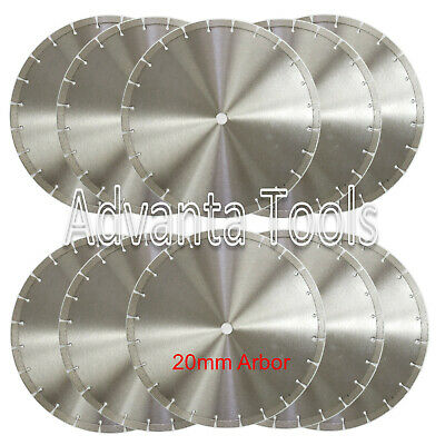 "10PK 14"" Diamond Blade for General Purpose Brick Block Concrete Stone-20MM Arbor"