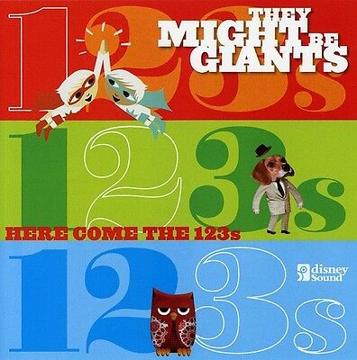 They Might Be Giants - Here Come the 123's [New CD] With DVD