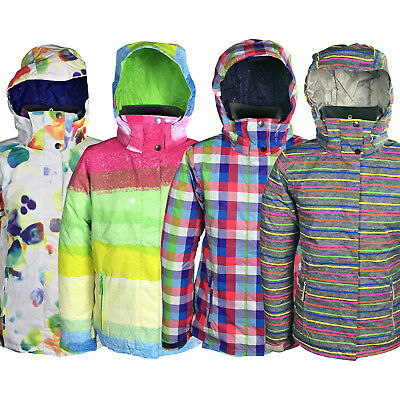 New Roxy Jetty Womens Snow Jacket Ski Snowboard Waterproof Ladies Coat Warm