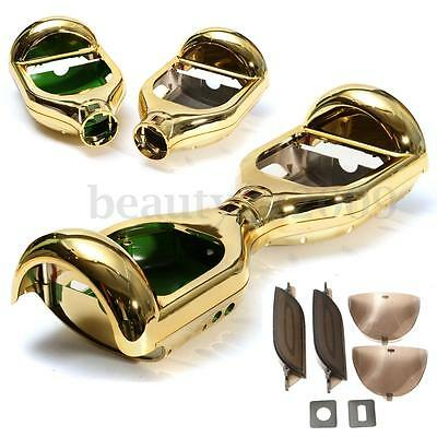 """6.5"""" Gold Chrome Outer Shell For 2 Wheels Self Balancing Electric Scooter DIY"""