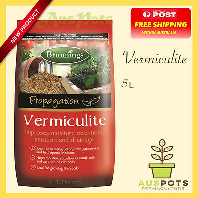 Vermiculite -  Ideal for propagation, hydroponics and pots.