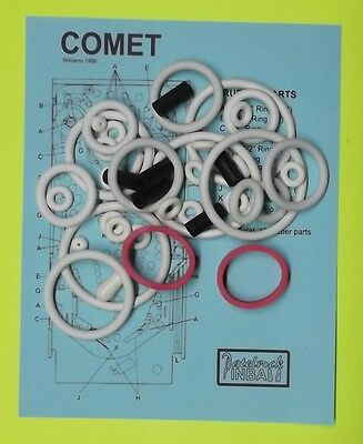 1985 Williams Comet pinball rubber ring kit