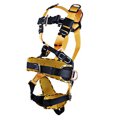 Outdoor Rock Tree Climbing Full Body Fall Protection Harness Rappelling Gear