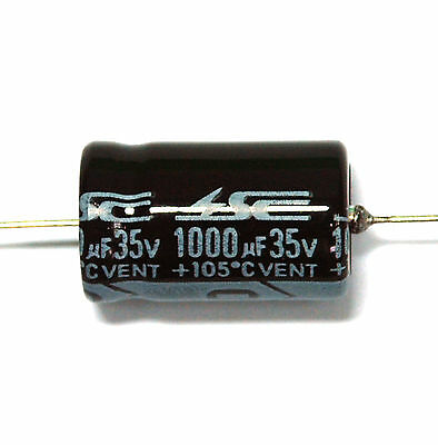 100pc Electrolytic Capacitor GHA 47uF 63V 105℃ 2000hrs φ8x13mm Axial RoHS SC