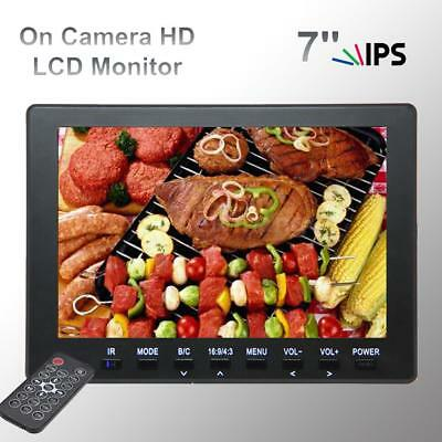 "FR7769 HD 7.0"" TFT-LCD IPS Video Monitor for Photography Canon Nikon DSLR B6Q8"