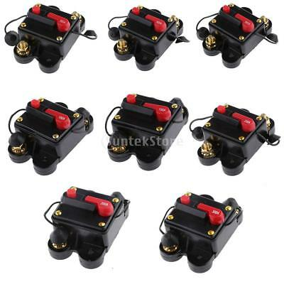 20AMP - 300 Amp Manual Reset Circuit Breaker Switch 12v/24v Car Boat Fuse Holder