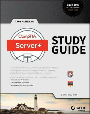 Comptia Server+ Study Guide Exam Sk0-004 by Troy McMillan (English) Paperback Bo