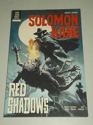 Solomon Kane: Vol 3: Red Shadows by Bruce Jones (Paperback, 2011) 9781595828781