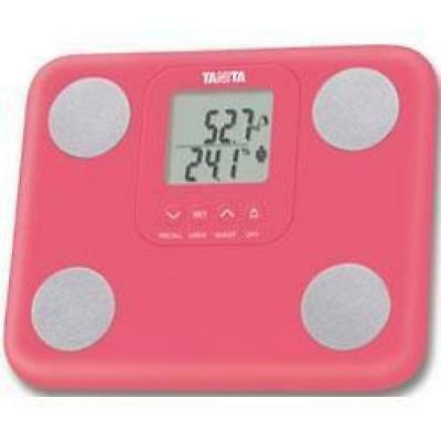 Tanita BC-730 Innerscan Body Fat Mass Composition Monitor Weighing Scales Pink