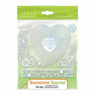 Tonic Studios metal verso cutting die Someone special set 190e