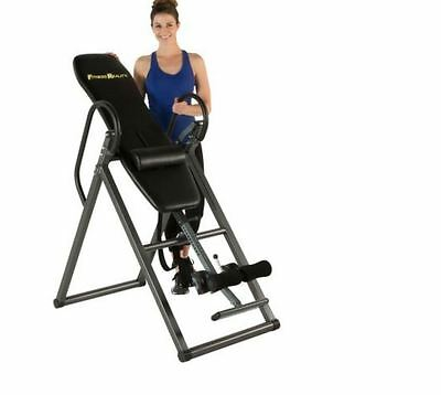 Fitness Reality Additional Weight Capacity Inversion Table with Lumbar Pillow