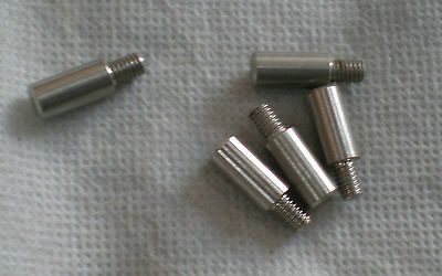 "peg, 1/2"" long, 1/4"" thick with threaded base, 1172"