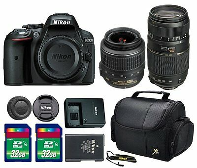 Nikon D5300 24.2 MP CMOS Digital SLR Camera + 18-55mm VR Lens + Accessories
