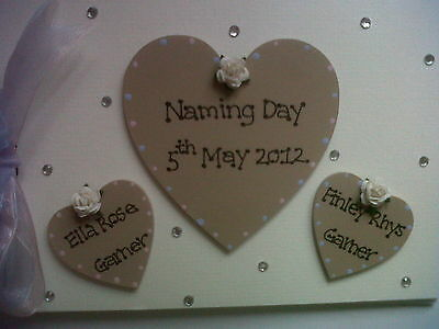 Personalised Naming Day Photo Book Or Guest Book Any Colour