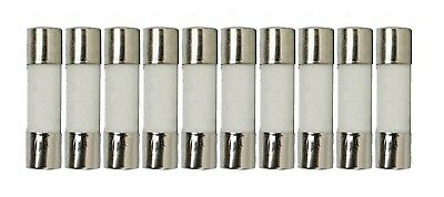 10 Qty. 5X20mm 500mA Fast-Blow Fuse 250v 500mA, 217, Ceramic