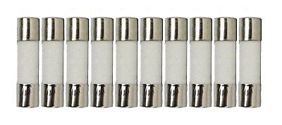 10 Qty. 5x20mm 8A Slow-Blow Ceramic Fuse T8a 250v