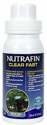 Nutrafin Clear Fast 120ml, Clears cloudy water . NOW CALLED FLUVAL QUICK CLEAR.