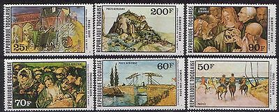 Togo 1978 Paintings Mnh