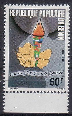 Benin 1982 Conference Of West African Economic Community Mnh M4473