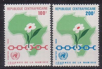 Central Africa 1983 Namibia Day Mnh M4310