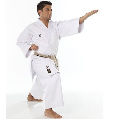 Tokaido WKF Karate Kata Master Gold Gi, 14oz uniform