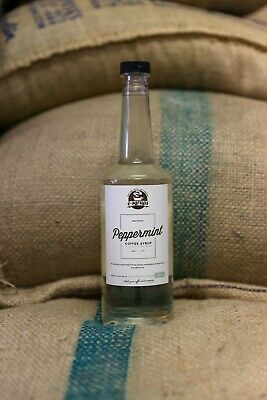 Peppermint Syrup 2 x Bottles. 750ml