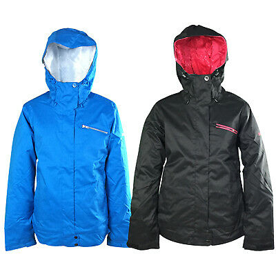 New Roxy Prarie Womens Snow Jacket Ski Snowboard Waterproof Ladies Coat Warm