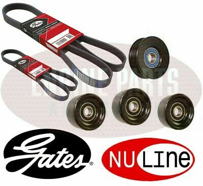 Commodore VT VX VY VZ V8 GEN 3 LS1 2 Drive Belts and 4 pulleys Kit HIGH QUALITY